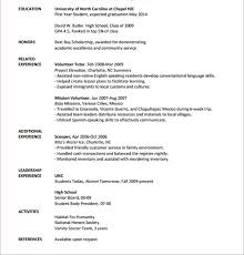 internship resume template internship resume templates