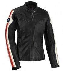 bmw club motorcycle jacket for women black