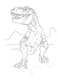 Small Picture t rex coloring page by stuntmanmike666 Elliot Pinterest