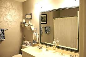 full size of frame bathroom mirror how to a with tile good framed mirrors design your