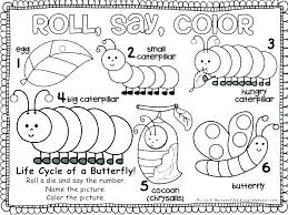 Hungry Caterpillar Coloring Pages The Hungry Caterpillar Coloring