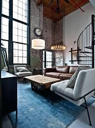 industrial style living room furniture. Industrial Room Decor Style Living Furniture Ideas . E