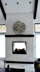stacked stone white white stacked stone fireplace white quartz stacked stone fireplace stacked stone fireplace painted