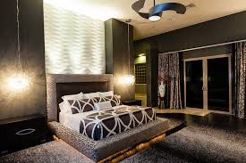 black shag rug bedroom contemporary interesting ideas with modern fan dark gray black shag rug home office