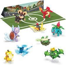 Amazon.com: Mega Construx Pokemon Trainer Team Challenge Figure Building  Set: Toys & Games