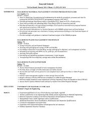 Hazardous Materials Specialist Sample Resume Hazardous Resume Samples Velvet Jobs 12