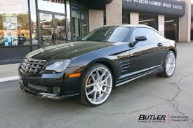 chrysler crossfire custom interior. chrysler crossfire with 20in niche targa wheels custom interior