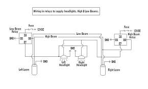 high low beam issue how to troubleshoot wd the relays then feed the high and low beam wiring on the headlights respectively