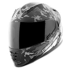 Speed Strength Helmet Size Chart Speed And Strength Ss1600 Straight Savage White Black Full Face Helmet 884527