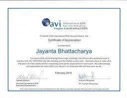 Iavi Mvp Certificate 2015