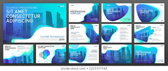Modern Powerpoint Template Free Modern Ppt Template Stock Vectors Images Vector Art