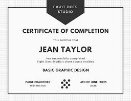 Certificate Of Completion Training Mesmerizing Customize 48 Course Certificate Templates Online Canva