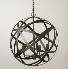 large sphere light fixture