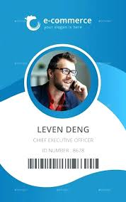 Employee Id Card Template Idea In Free Download Sample