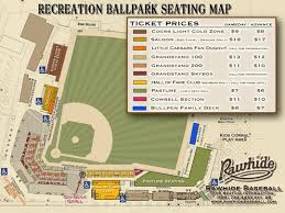 Rawhide Seating Chart Visalia Rawhide Tulare County Minor League Baseball