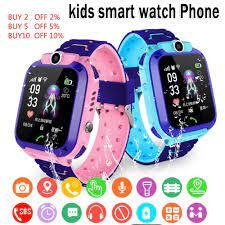Q12 Trẻ Em Của Đồng Hồ Thông Minh SOS Hồ Điện Thoại Đồng Hồ Thông Minh  Smartwatch Cho Trẻ Em Kèm Sim Ảnh Chống Nước IP67 Trẻ Em Tặng IOS Android  Z5S
