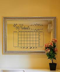 The Vinyl Company Personalized Monthly Calendar Vinyl Decal
