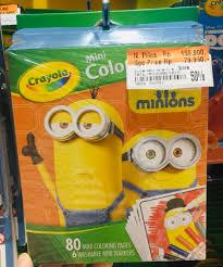 Jual Sale Crayola Mini Coloring Pages Minions Ori Counter Mainan