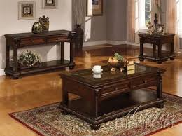 anondale cherry wood coffee table