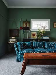 tufted furniture trend. Emily Henderson Modern Victorian Trend Eclectic Boho Moody Velvet Tufted Fringe Detailed Dramatic Living Room Bedroom Furniture