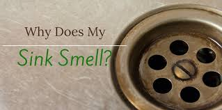 why does my sink smell