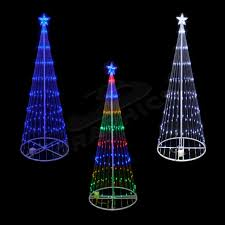 Cone Shaped Christmas Tree Lights 6 Foot 3d Led Showmotion Cone Shape Mini Light Tree 100shtree6