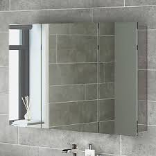 white bathroom mirror with shelf. image is loading bathroom-mirror-storage-unit-wall-mirrored-cabinet-mc111 white bathroom mirror with shelf n