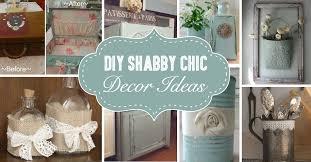 25 diy shabby chic decor ideas for