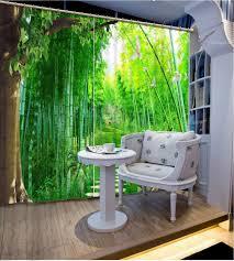 1 Stück Blume Bestickt Grüne Sheer Vorhang Tüll Für Wohnzimmer Tap