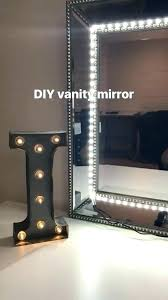 mirror with lights light up mirror attractive makeup vanity i used any and led