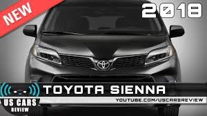 2018 toyota usa. wonderful 2018 new 2018 toyota sienna  review news interior exterior to toyota usa l