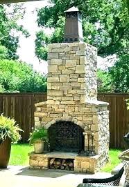 cost to build a fireplace outside stone fireplace ideas how much does a outdoor stone fireplace