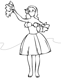 Small Picture Dancing Coloring Pages Handipoints