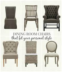 architecture graceful dining chair styles 28 room chairs that fit your personal style mixing dining room