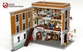 Lego Full House Swiss Ghostbusters Who You Gonna Call Full Playable Lego