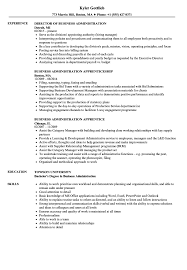 Businesstration Resume Samples Objective Sample Bachelor Traineeship