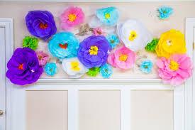 Flower Paper Mache Do It Yourself Oversized Paper Mache Flowers Video Hallmark Channel