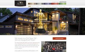 home improvement design. SEO For Home Builders - My House Design/Build Team Lara Spence Web Design Improvement O