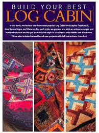 10 Best images about Quilt Ideas on Pinterest | Mesas, Puff quilt ... & Free Log Cabin Quilt Patterns from Fons & Porter's Love of Quilting - free  ebook to Adamdwight.com