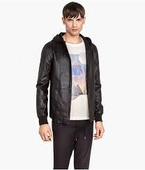 h m nos presenta su moda esencial para la primavera 2016 hm men leather jacket 800 936