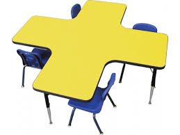 kids at classroom table. a plus collaboration station activity table classroom tables kids at
