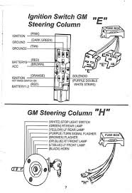 gm steering column wiring rat rod nation rat rod rat rods the wiring diagram for the ignition switch for the newer style gm steering column and from what i understand this diagram is the same for a standard