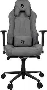 Игровое <b>кресло Arozzi Vernazza</b> Soft Fabric, серый - купить по ...