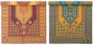 image of traditional recycled plastic indoor outdoor rugs ideas