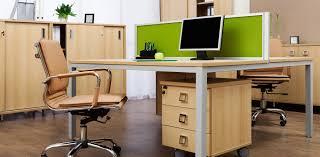 work office desk. elegant nice furniture office work desk that can be applied on the brown modern floor