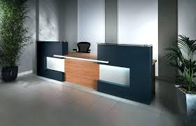 Office Reception Desk Designs Rooms Decor And Furniture Medical Gorgeous Office Front Desk Design
