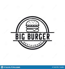 Burger Logo Design Free Burger Logo Design Inspiration With Hipster Drawing Style