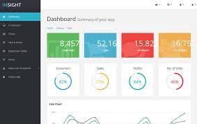 Insight Bootstrap Html5 Admin Template Templates Data