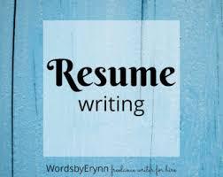 Resume writer   Etsy