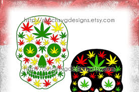 The design is perfect for prints. Skull Cutting File With Weed Leaves In Jpg Png Svg Eps Dxf For Cricut Silhouette Sugar Skull Svg Weed Svg Weed Leaves Svg Marijuana Download Free Svg Files Creative Fabrica